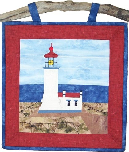 Quilted Lighthouse Pattern Free Quilt Patterns