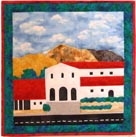 Mission San Luis Obispo applique quilt pattern from Sentries of Light - Select image to enlarge